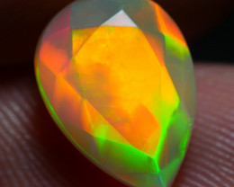 1.60 CRT GORGEOUS FACETED BROADFLASH FIRE PLAY COLOR WELO OPAL