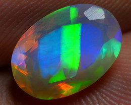 1.85 CRT BEAUTY FACETED BROADFLASH RIBBON PATTERN PLAY MULTICOLOR WELO OPAL