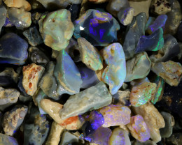 2560.00 CTS COLOURFUL OPAL ROUGH MINE RUN FROM LIGHTNING RIDGE[BR-SAFE124]