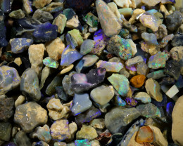 3235.00 CTS COLOURFUL OPAL ROUGH MINE RUN FROM LIGHTNING RIDGE[BR-SAFE125]