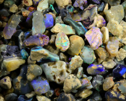 3225.00 CTS COLOURFUL OPAL ROUGH MINE RUN FROM LIGHTNING RIDGE[BR-SAFE126]