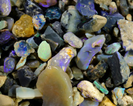 3160.00 CTS COLOURFUL OPAL ROUGH MINE RUN FROM LIGHTNING RIDGE[BR-SAFE127]