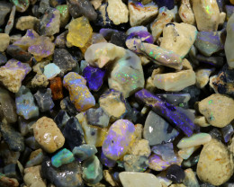 2560.00 CTS COLOURFUL OPAL ROUGH MINE RUN FROM LIGHTNING RIDGE[BR-SAFE128]
