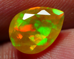 1.35 CRT BEAUTYIFUL FACETED RAINBOW WELO CHAFF PLAY COLOR WELO OPAL
