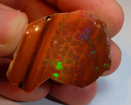 80ct Shewa Terracota Rough Bright Natural Ethiopian Rare Opal Specimen