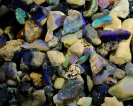 2775.00 CTS COLOURFUL OPAL ROUGH MINE RUN FROM LIGHTNING RIDGE[BR-SAFE131]