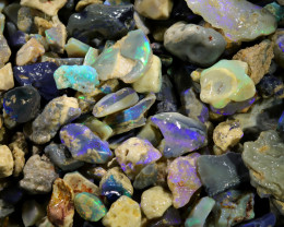 2710.00 CTS COLOURFUL OPAL ROUGH MINE RUN FROM LIGHTNING RIDGE[BR-SAFE132]