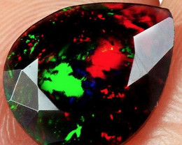 1.25Ct Faceted Opal  Exquisite Play of Color!
