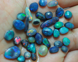 30CTS BLACK OPAL PARCEL OF QUALITY BRIGHT RUBS RE403