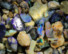 3050.00 CTS COLOURFUL OPAL ROUGH MINE RUN FROM LIGHTNING RIDGE[BR-SAFE137]
