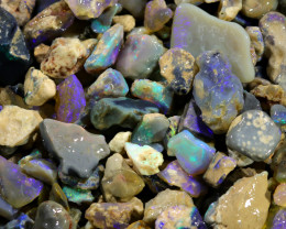 2915.00 CTS COLOURFUL OPAL ROUGH MINE RUN FROM LIGHTNING RIDGE[BR-SAFE139]