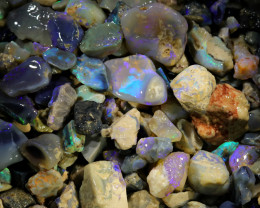 2300.00 CTS COLOURFUL OPAL ROUGH MINE RUN FROM LIGHTNING RIDGE[BR-SAFE141]