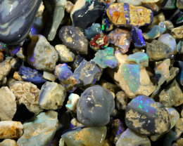 2605.00 CTS COLOURFUL OPAL ROUGH MINE RUN FROM LIGHTNING RIDGE[BR-SAFE143]