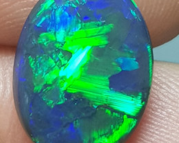 ABSOLUTELY GORGEOUS BLACK OPAL 3.47 CARATS