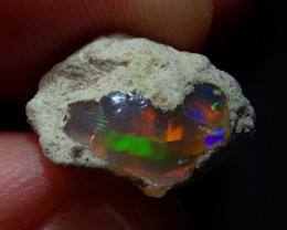 4.92ct  Solid Rough Ethiopian  Welo Opal Specimen