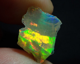 4.53ct Bright Solid Rough Ethiopian Welo Opal