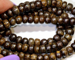 135 cts BOULDER OPAL BEAD  16 INCHES lo-4918