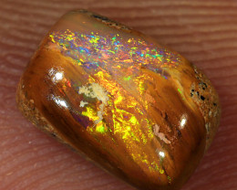 1.1ct 8x5.5mm Wood Fossil Boulder Pipe Opal  [LOB-2400]