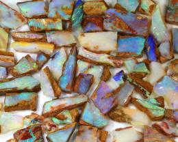 230ct Natural Boulder Pipe Opal Rough Parcel [BRP-068]