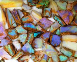 230ct Natural Boulder Pipe Opal Rough Parcel [BRP-069]