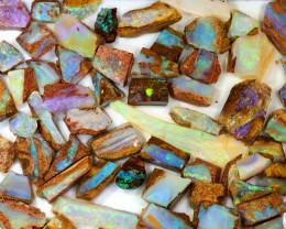 230ct Natural Boulder Pipe Opal Rough Parcel [BRP-070]
