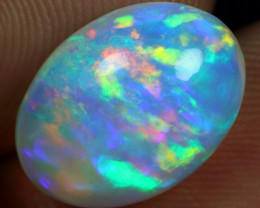 4.60cts Rainbow Ribbon Pattern Natural Ethiopian Welo Opal