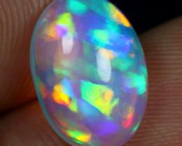 3.85cts Rainbow Ribbon Pattern Natural Ethiopian Welo Opal