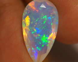 4.83 CT  Galaxy Pattern !! AAA Quality Welo Faceted Ethiopian Opal - JAA16