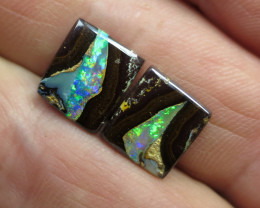 "11cts,""YOWAH NUT OPAL~GEM PAIR"""