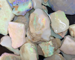 1900 Carats of Solid/Natural White Cliffs Rough Opal #134