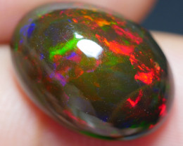 6.35 CRT BRILLIANT SMOKED BROAD STRIPE FLORAL PLAY COLOR WELO OPAL-