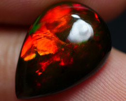 4.15 CRT BRILLIANT SMOKED ROLLING FLASH RED FIRE WELO OPAL-