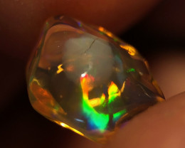 """Cracked Egg"" Mexican 2.4ct Crystal Opal (OM)"