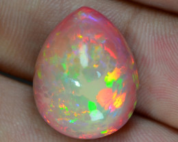 11.15 Carat World Very Rare Natural Ethiopian Opal Loose Gemstones