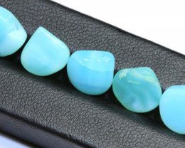 10.75- CTS POTCH OPAL BEADS (PARCEL) DRILLED  LO-4927