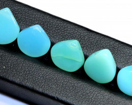 11- CTS POTCH OPAL BEADS (PARCEL) DRILLED  LO-4928