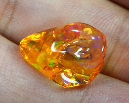 5.32 CTS World Very Rare Natural Mexican Fire Opal Loose Gemstones