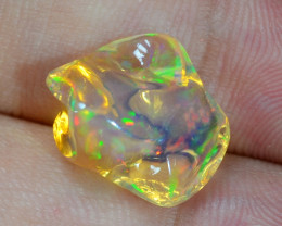 5.45 CTS World Very Rare Natural Mexican Fire Opal Loose Gemstones