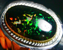 55.95 CT Beautiful Leopard Indonesian Opal Ring Jewelry