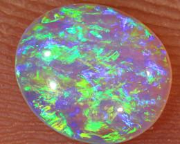 0.35ct 6.4x5.5mm Crystal Pipe Boulder Opal  [LOB-2438]