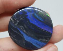 34.45CT Neptune Black Opal  Lightning Ridge  AF21