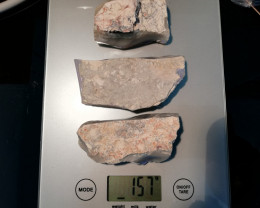 785cts Lightning Ridge opal rough parcel,3 big pieces virgin material