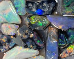 75.3 Carats of Solid/Natural Lightning Ridge Rough/Rub Black /Dark Opal, #1
