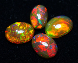 3.20 CRT BRILLIANT 4 PCS PARCELS BEAUTY MULTICOLOR WELO OPAL-