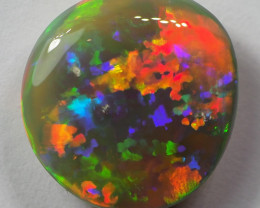4.15CT  RARE DOUBLE SIDED GEM CRYSTAL OPAL FROM LIGHTNING RIDGE RE411