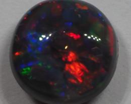 0.75CT BLACK OPAL FROM LIGHTNING RIDGE RE424