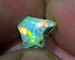 2.85 cts Ethiopian Welo HONEYCOMB opal N7 4/5