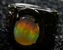 35.30 CT UNTREATED Dark Crystal Contaluz Indonesian Opal Jewelry