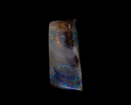 Colourful Bolder Opal Stone
