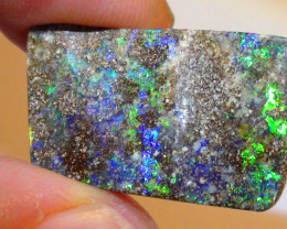 14.40 ct Multi Color Natural Queensland Boulder Opal
